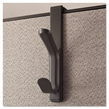 Recycled Double Coat Cubicle Hook