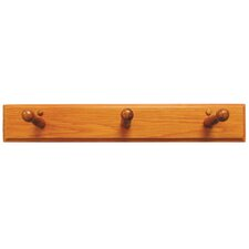 Rustic Wall Mounted 3 Robe Hook
