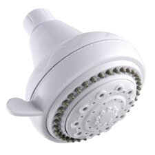 White 5 Function Shower Head