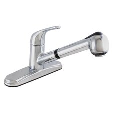 <strong>LDR</strong> One Handle Centerset Kitchen Faucet with Pull Out Spray