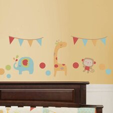 Jungle Friends Wall Decal (Set of 4)