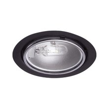 Low Voltage Round Button Light in Dark Bronze