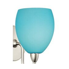 <strong>WAC Lighting</strong> Sarah Dichroic Glass Shade in Light Blue