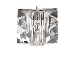 "4.5"" Crystal Glass Wall Sconce Shade"
