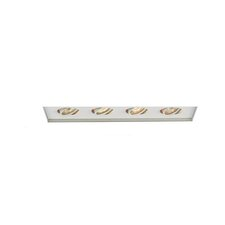 Four Light Recessed Trimless Multi Spot for MT-416 in White