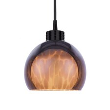 <strong>WAC Lighting</strong> Contemporary Nova 1 Light Round Pendant