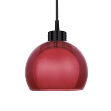 Contemporary Nova 1 Light Round Pendant