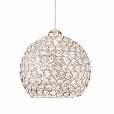 <strong>WAC Lighting</strong> Crystal Roxy LEDme Quick Connect 1 Light Monopoint Pendant