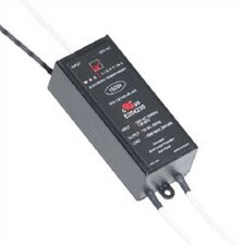 150W 12V Remote Electronic Transformer in Black