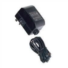 60W 12V Class II Mini Electronic Transformer with 6' Detachable Cord and Plug