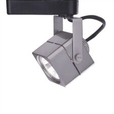 Square 1 Light Low Voltage Track Head
