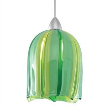 European 1 Light Couture Line Voltage Pendant
