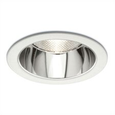 "4"" Line Voltage Aperture Cone Recessed Trim with Reflector"