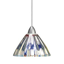 <strong>WAC Lighting</strong> European 1 Light Eden Line Voltage Pendant
