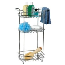 Three Tier Storage Stand in Chrome