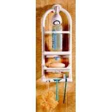 Aqua Teak Spa Teak Oval Shower Organizer Amp Reviews Wayfair