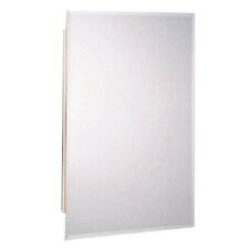 "<strong>Zenith Products</strong> 16"" x 26"" Recessed / Surface Mount Beveled Edge Medicine Cabinet"