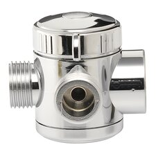 3-Way Shower Diverter Valve