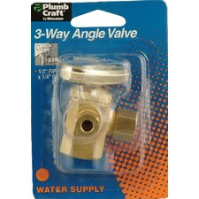 Low Lead 3-Way Angle Valve