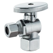 "<strong>Plumb Craft</strong> 0.5"" FIP x 0.375"" Low Lead Quarter Turn Angle Valve"