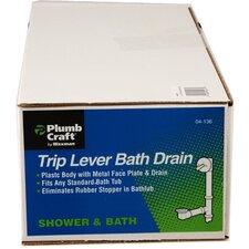 """1.5"""" Trip Lever Bath Tub Drain"""