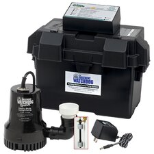 Battery Backup Sump Pump System