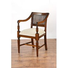 Vanessa Slatted Carver Dining Chair