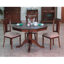 Vanessa 5 Piece Round Dining Set