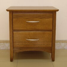 Grace 2 Drawer Bedside Table