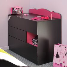 Lady Doll 3 Drawer Chest