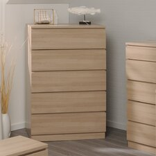 Home 5 Drawer Chest