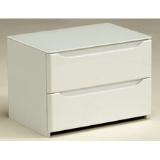 Ambynight 2 Drawer Bedside Table