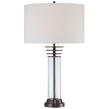 "27.75"" Table Lamp with Drum Shade"