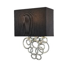 Ringlets 2 Light Wall Sconce