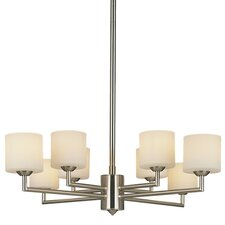 <strong>George Kovacs by Minka</strong> 8 Light Chandelier
