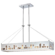 Bling Bang 6 Light Kitchen Island Pendant
