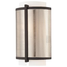 <strong>George Kovacs by Minka</strong> Mainly Mesh 1 Light Wall Sconce