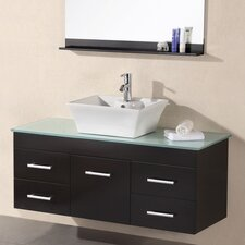 "<strong>Design Element</strong> Madrid 48"" Single Sink Vanity Set"