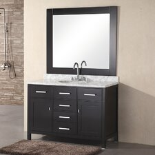 "<strong>Design Element</strong> London 48"" Single Bathroom Vanity Set"