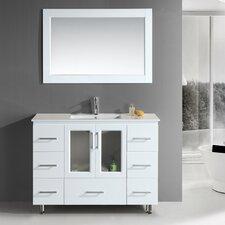 """Milan Stanton 48"""" Modern Vanity Set"""