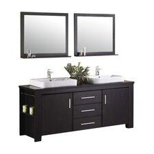 """Washington 72"""" Double Sink Vanity Set"""