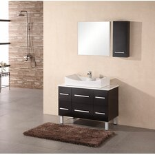 "<strong>Design Element</strong> Paris 36"" Single Sink Vanity Set"