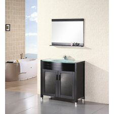 "<strong>Design Element</strong> Prestige 36"" Single Sink Vanity Set"