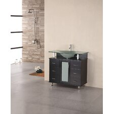 "<strong>Design Element</strong> Huntington 36"" Single Sink Vanity Set"
