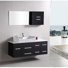 "<strong>Design Element</strong> Picks Springfield 55"" Single Sink Vanity Set"