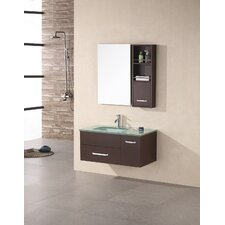 "<strong>Design Element</strong> Picks Christine 35"" Single Modern Vanity Set"
