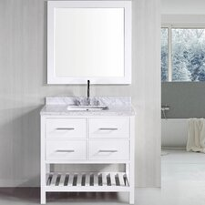 "<strong>Design Element</strong> 36"" Single Bathroom Vanity Set"