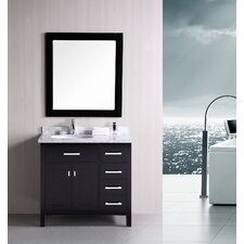 "London 36"" Single Sink Vanity Set"