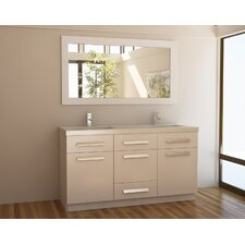 "Moscony 60"" Double Sink Vanity Set"