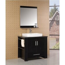 "<strong>Design Element</strong> Washington 36"" Modern Bathroom Vanity Set"